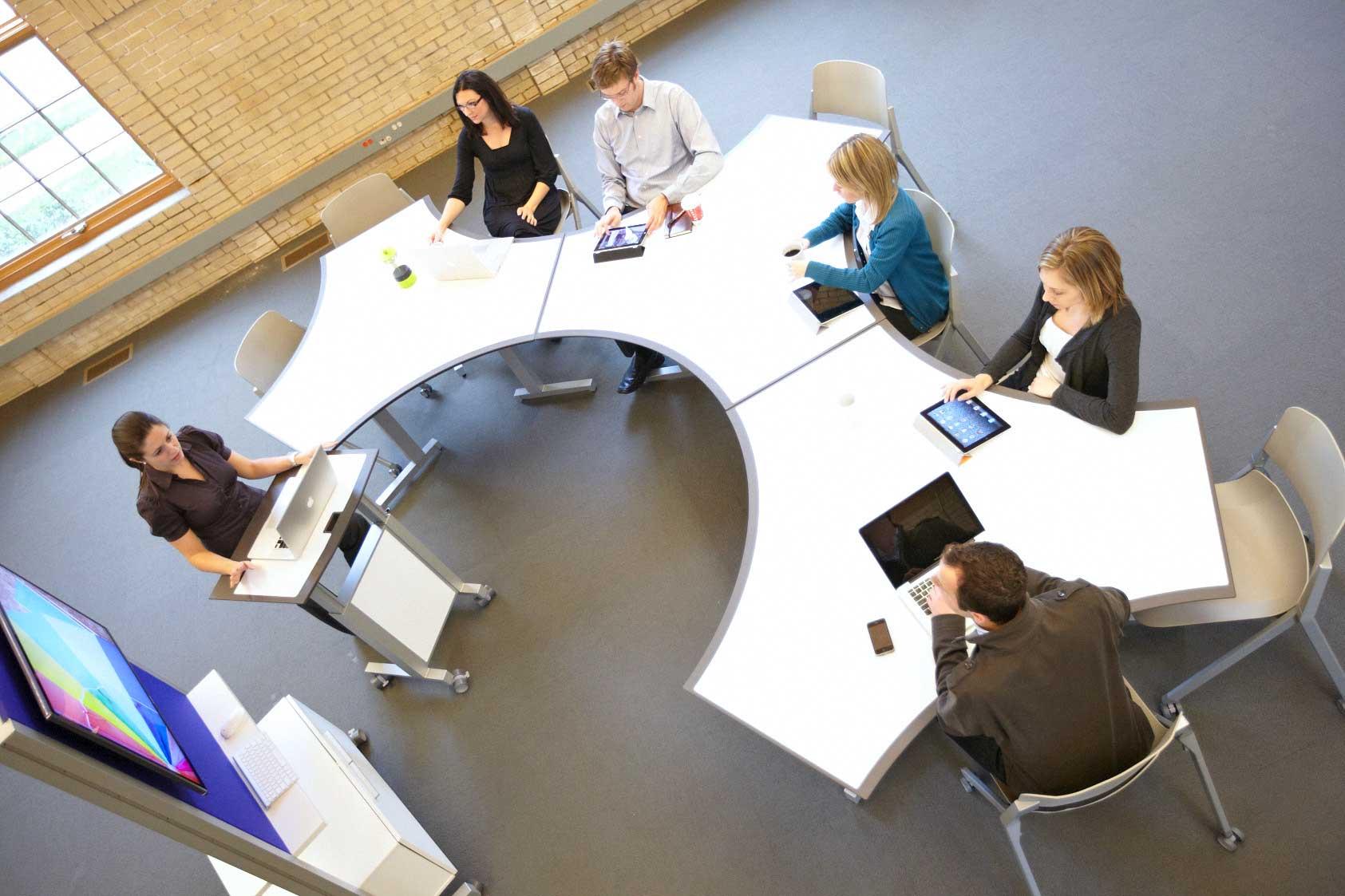 Collaborative Classroom Tables : Collaboration